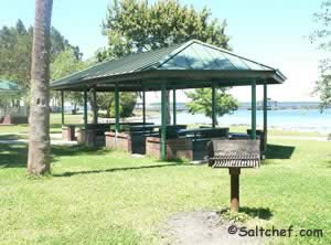 pavilion near spring park fishing pier