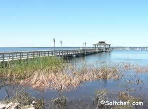 public fishing pier in green cove springs clay county