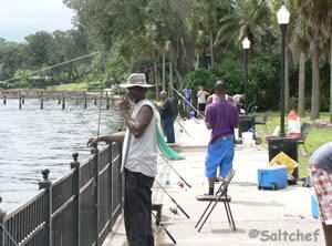 shoreline fishing stockton park
