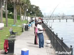 fishing stockton park