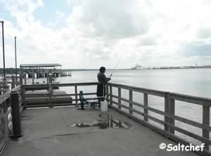 jacksonville st johns river fishing pier