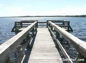 public fishing pier on doctors inlet fleming island florida
