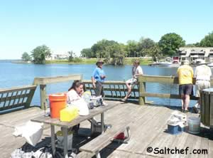 fishing pier on governors creek fl