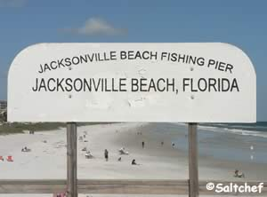jacksonville beach ocean fishing pier