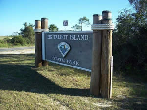fishing in duval county at little talbot island state park