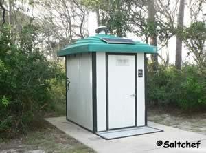 restroom at driftwood beach talbot island florida