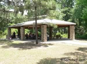 picnic pavilion at betz tiger preserve