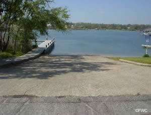 bayou texar boat ramp escambia county