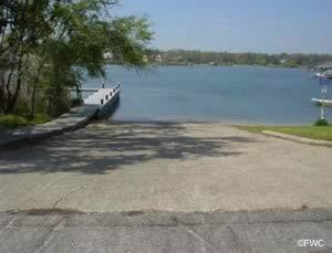 bayou texar boat ramp escambia county