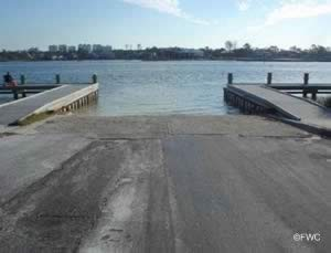 big lagoon state park saltwater boat ramp in escambia county florida
