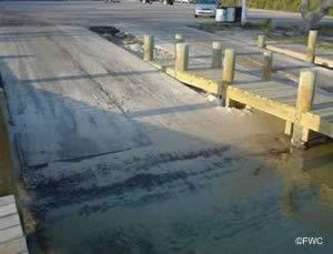 galvez landing boat ramp escambia county