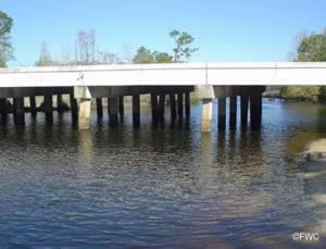 low bridge lillian highway / route 98 near millview heron bayou ramp