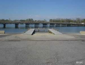 navy point boat ramp access pensacola bay easily