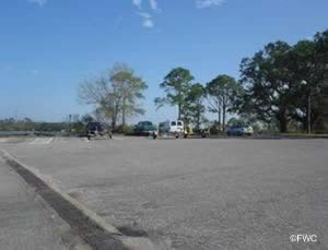 about 56 boat trailer parking spots at navy point ramp in warrington fl
