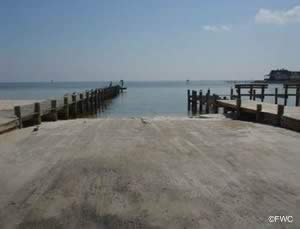 sanders beach boat ramp pensacola bay