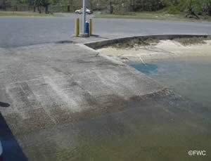 boatramp escambia county with easy santa rosa sound, pensacola bay and gulf fishing access