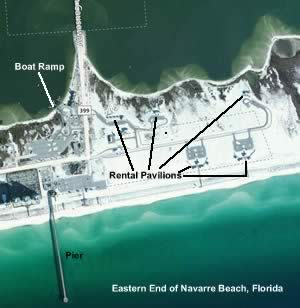 eastern end of navarre beach