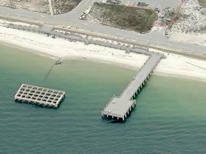 fort pickens gulf island national seashore fishing pier