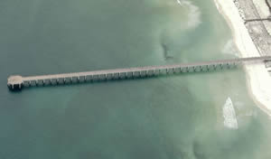 navarre beach fishing pier