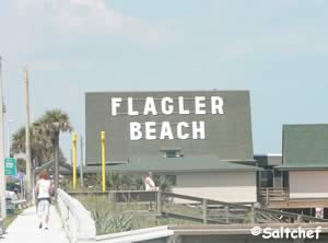 Flagler beach a frame building
