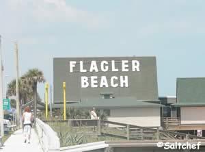 Flagler beach a frame building