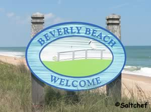 beverly beach sign