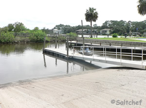 icw boat ramp near palm coast florida