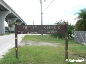 entrance to betty steflik preserve