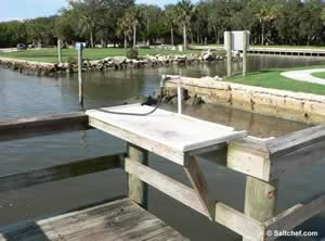fish cleaning table bings landing boat ramp