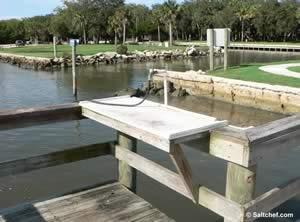 fish cleaning table bings landing boat ramp