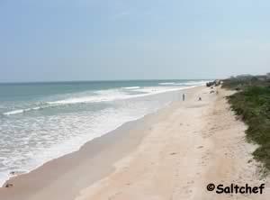 Malacompra Beach Near Palm Coast Where To Catch Fish In Flagler County Florida Surf Fishing The Beaches