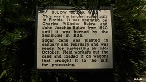 bulow sugar plantation