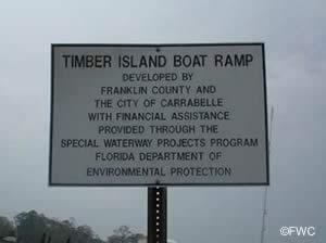 timber island saltwater boat ramp carrabelle florida
