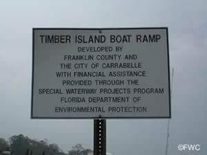 timber island saltwater boat ramp carrabelle florida
