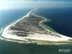 aerial of st george island