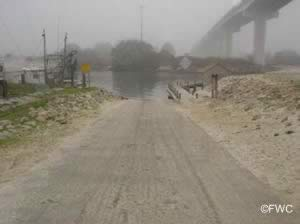 highland view boat ramp access to st joseph bay and gulf of mexico fishing