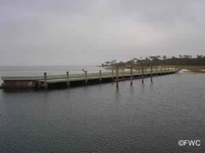 docks at st joseph state park boat ramp