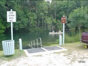 hand launch ramp at rogers park in spring hill florida 34607