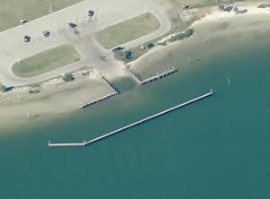 aerial davis island boat ramp 1 in tampa