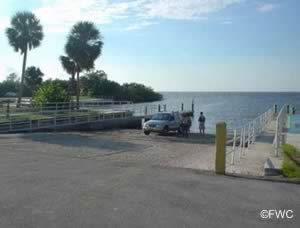 view of simmons boat ramp