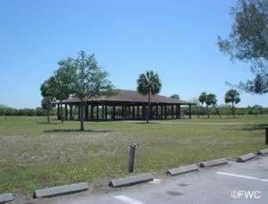 picnic pavilion at eg simmons ruskin florida