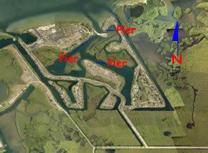 aerial of eg simmons park ruskin fl