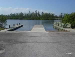 round island beach boat ramp