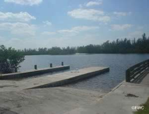 saltwater boat ramp in southern indian river county