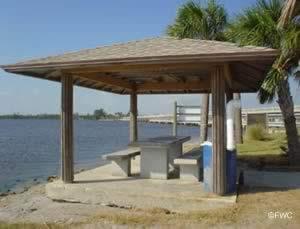 picnicking at wabasso causeway florida