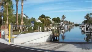 bokeelia florida saltwater boat ramp