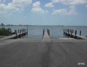 boat ramp in 33904