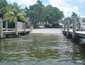 cape coral florida saltwater boat launching ramp