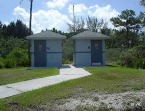 restrooms at the imperial river boat ramp bonita springs