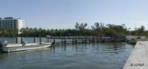 staging docks at punta rassa ramp